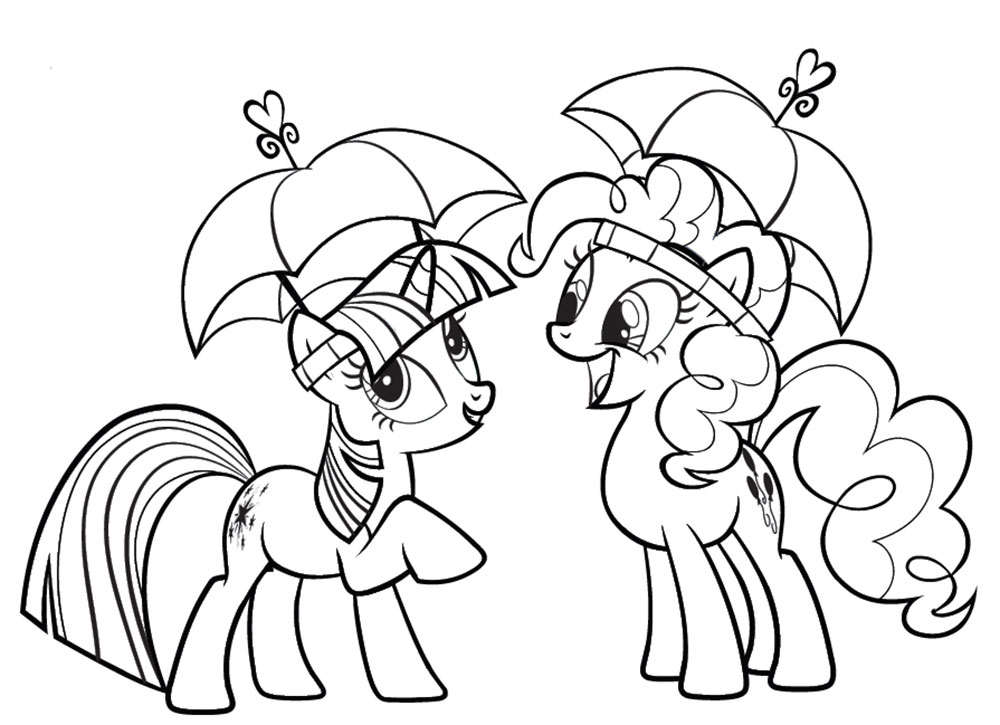 Twilight Sparkle Coloring Pages 🖌 To Print And Color