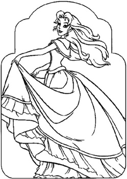 barbie princess academy coloring pages 🖌 to print and color