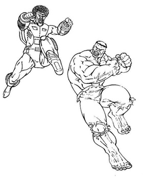 hulk coloring pages 🖌 to print and color