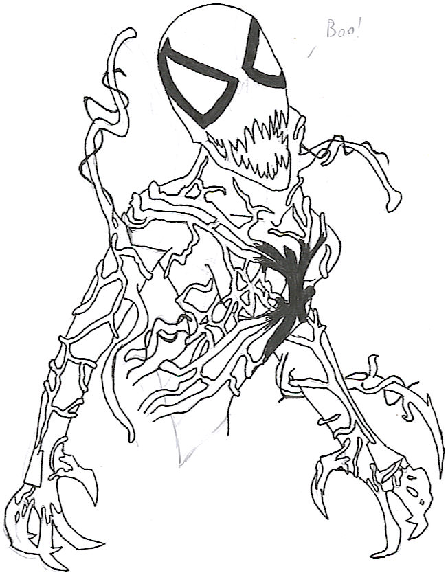 Carnage Coloring pages 🖌 to print and color