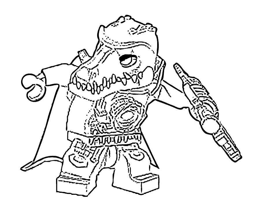 Lego Coloring Pages To Print And Color