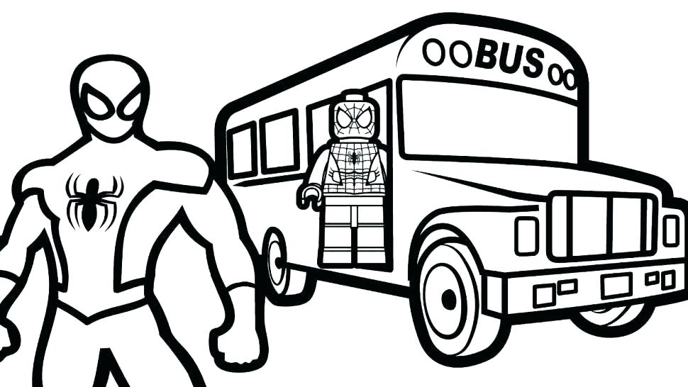 Lego Spiderman Coloring Pages To Print And Color